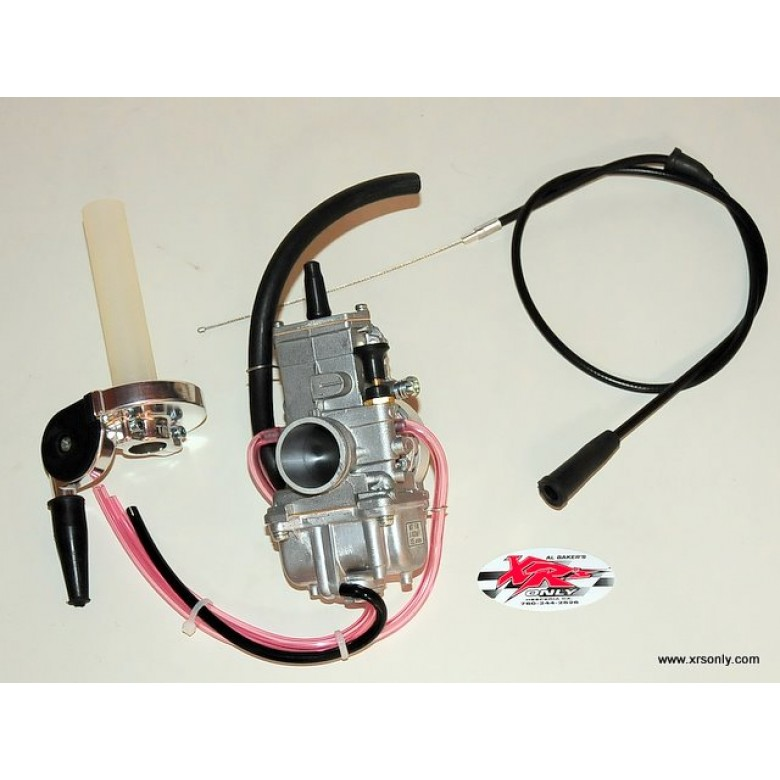 XRs Only Mikuni Flatslide Carburetor 34mm Kit - Honda XR250R (1986-1995)