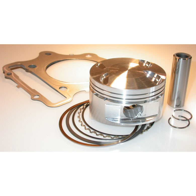 JE Pistons Honda XR400R Piston Kit - 415cc / 87mm / 12:1 Compression
