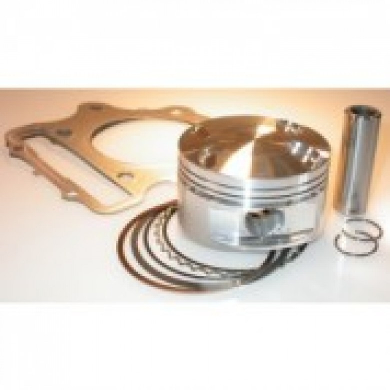JE Pistons Honda CRF450R CRF450X Piston Kit - 488cc / 100mm / 12.5:1 Compression