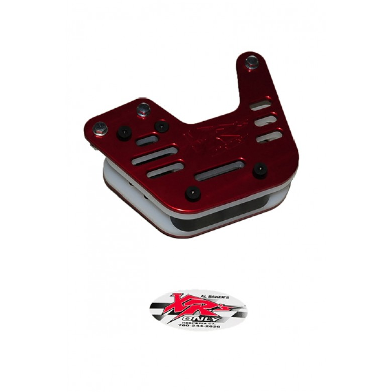 XRs Only Chain Guide - 3 Hole - Honda XR250R / XR400R / XR600R / XR650R - RED