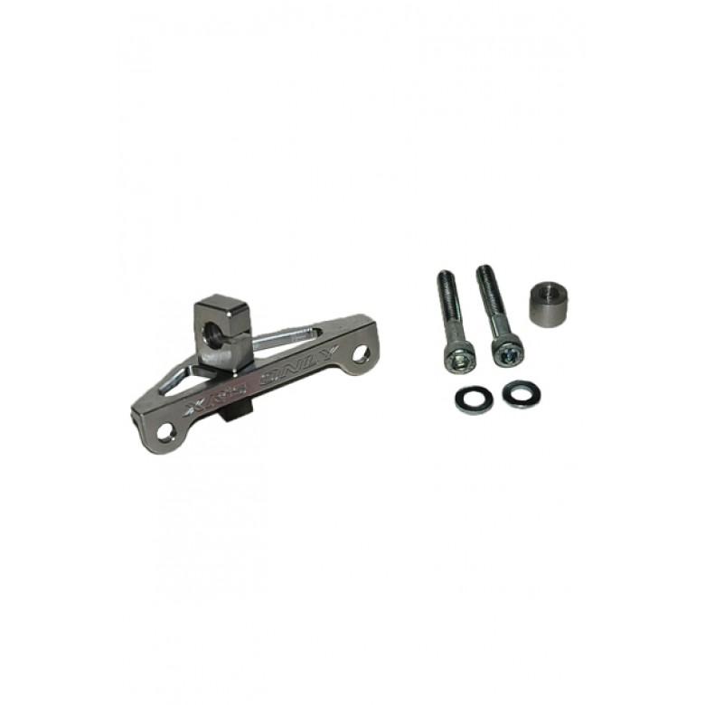 XRs Only Clutch Cable Bracket - Honda XR500 XR600R XL600 - SILVER