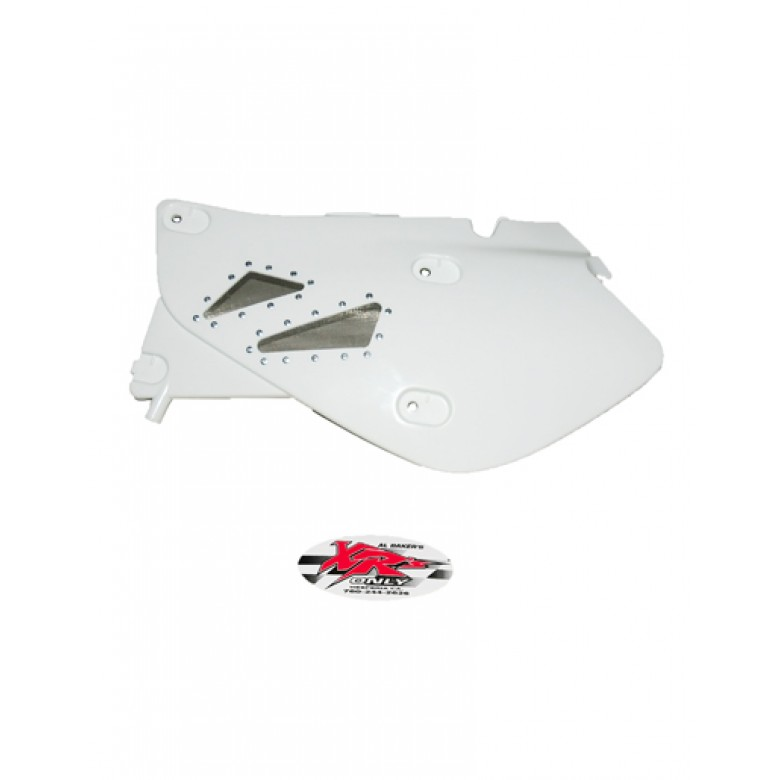 XRs Only High-Flow Side Panel Set - Honda XR650R - WHITE