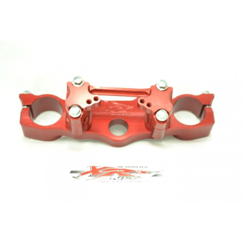 XRs Only Competition Triple Clamps - Honda XR400R (96-04), XR600R, (88-00) XR650L (93-16) RED