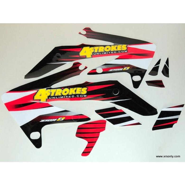 XRs Only Tank Graphics - Honda TXR400EX