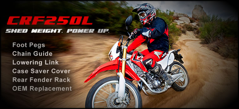 MUSCLE UP: Honda CRF250L
