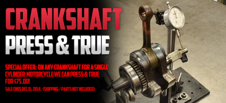 Crankshaft Press and True