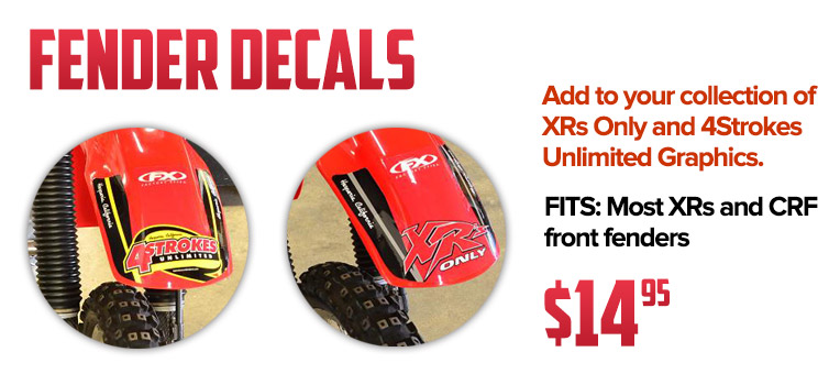 Fender Decal Sets!