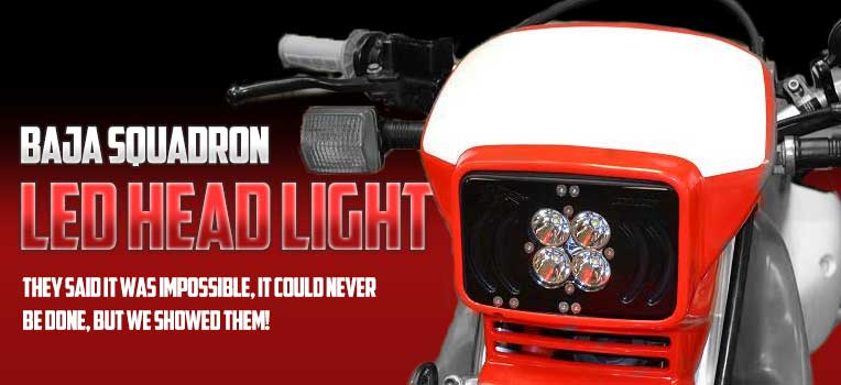 Baja Squadron LED Headlight