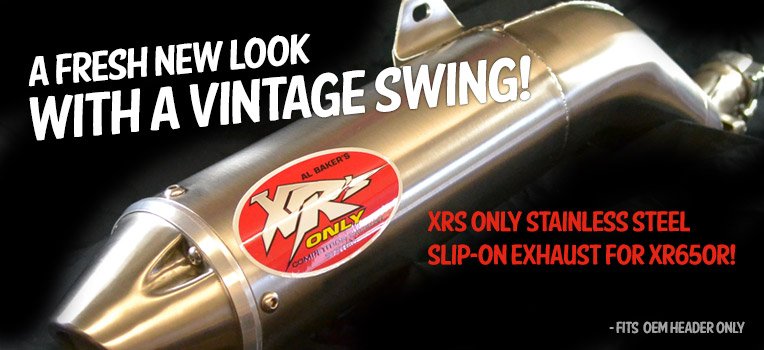 XRs Only Slip-On Exhaust Pipe