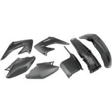 UFO PLASTIC BODY KITS , CR125R CR250R (02-03) BLACK