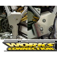 Works Connection Frame Guards - Honda XR250R (96-04)