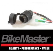 BikeMaster 12-Volt 15-Amps Standard Cigarette Lighter Socket Adapter