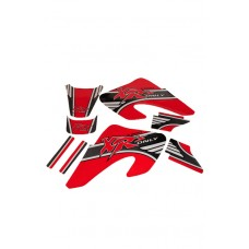 4 STROKES UNLIMITED Tank Shroud Graphics - Honda CRF450X
