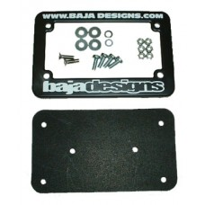 Baja Designs License Plate Mount w/hardware