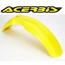 ACERBIS Front Fender (Yellow) SUZ RM125 RM250 (90-00) DRZ400E/S (00-07) KAW KLX400 (03-04)