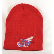 XRs Only Team Beanie (Red) 06