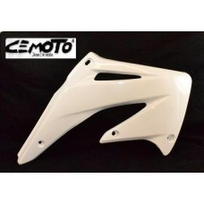 """""""BLOW-OUTS"""" Cemoto Shrouds, CRF450R (02-04) White"""