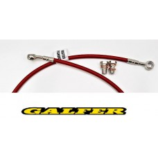GALFER BRAKE LINE FRONT XR650R (00-07) RED