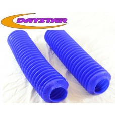 Daystar Fork Boots 40-48mm  Yellow & Royal Blue