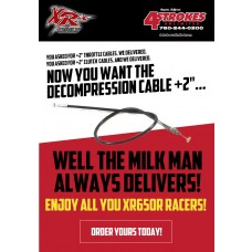 "XRs Only Decompression Cable +2"" XR650R (00-07)"