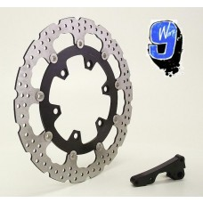 Warp 9 DR650 Suzuki 320mm Front Rotor Kit