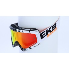 X BRAND SCATTER X / FADE GOX GOGGLES, Phantom Orange/Black