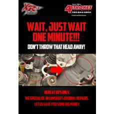 SHOP SERVICE: CAMSHAFT JOURNAL REPAIR