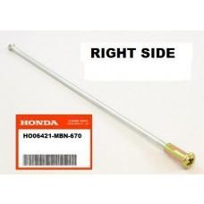 OEM HONDA REAR WHEEL SPOKE, XR650R (00-07) RIGHT SIDE