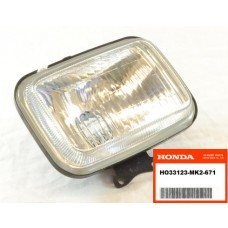 OEM Honda Headlight (Glass) XR200R (84-85) XR250R (84-04) XR400R (96-04) XR500R (83-84) XR600R (85-00) XR650R (00-07)
