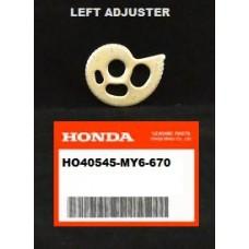 OEM Honda CHAIN ADJUSTER XR350R (83-84) XR500R (1984) XR650L (93-15)  LEFT ADJUSTER