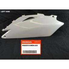 OEM Honda SIDE PANEL (LEFT) CRF250R (10-13) CRF450R (09-12) WHITE