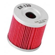 K&N Oil Filter - Suzuki DRZ400, DRZ400S, DRZ400E, DRZ400SM, LTZ400S, LTZ400M Kawasaki KFX400, KLX400R, KLX400SRSR