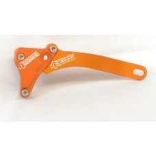 4 STROKES UNLIMITED T6 Billet Aluminum Case Saver  KTM 250/400/450/520/525 4-Strokes (All except EXC & SXF 07)