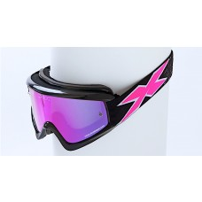 X BRAND LIMITED GOGGLES, Stealth Black Hot Pink