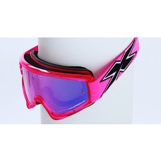 X BRAND LIMITED GOGGLES, Transparent Flo Pink