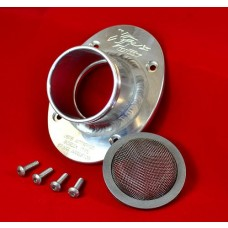 XRs Only Exhaust Pipe Turn Down Tip - USFS Approved Version - SLIVER