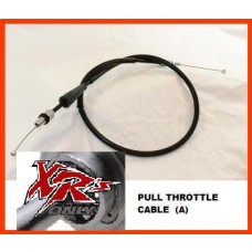 XRs Only Extended Throttle Cable - Honda XR650R (00-07) (2 Inches) PULL