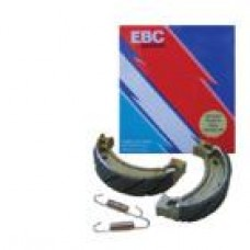 EBC Brakes Carbon Front / Rear Brake Shoes - Honda CR60 / CRF70 / XR70R / CR80 (83-85) / CRF80 / XR80R / CRF100 / XR100R