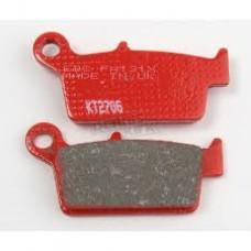 EBC Brakes Rear Brake Pads - CR125, CR250, CR500, CR80R, CRF150R, CRF150F, XR250L, XR250R, XR400R, XR600R, XR650L, XR650R, KLX300R, KLX400R, KLX400SR, KX125, KX250, KX500, DR-Z400, DR-Z400E, DR-Z400S, DR-Z400SM, RM125, RM250, WR250F, WR400F, WR426F, YZ125