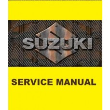 Suzuki OEM Genuine Service Manual - DR-Z70 (08-16)