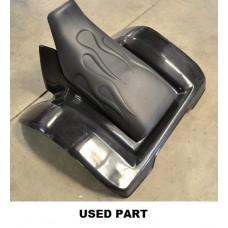 REAR FENDER & CUSTOM SEAT ATC350X (85-86) BLACK