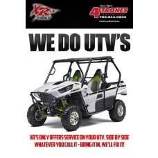 SHOP SERVICE: UTV FULL SERVICE