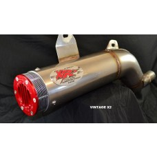 XRs Only Exhaust Pipe - Honda XR600R (88-UP) XR650L - Stainless Steel