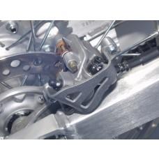 Works Connection Rear Caliper Guard - CR125/250R / CRF150R / CRF250R/X / CRF450R/X