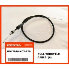 OEM Honda Throttle Cable (A) XR400R, (96-04) PULL