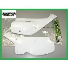 UFO Side Panels Left / Right - Honda XR600R - WHITE