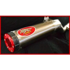 XRs Only Exhaust Pipe - Honda XR350R (1985) ROUND