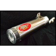 XRs Only Exhaust Pipe - Honda XR250R / XR250L (86-95) - Round / Super Trapp