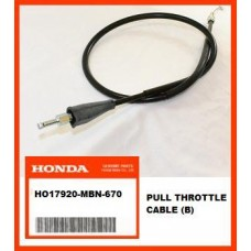 OEM Honda Throttle Cable (B) XR650R, (00-07) PUSH
