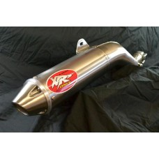 XRs Only Exhaust Pipe - Honda XR650R - Stainless Steel / Cone Tip